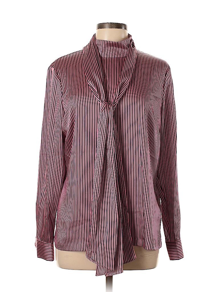 Ted Baker London Women Long Sleeve Blouse Size 12 (5)