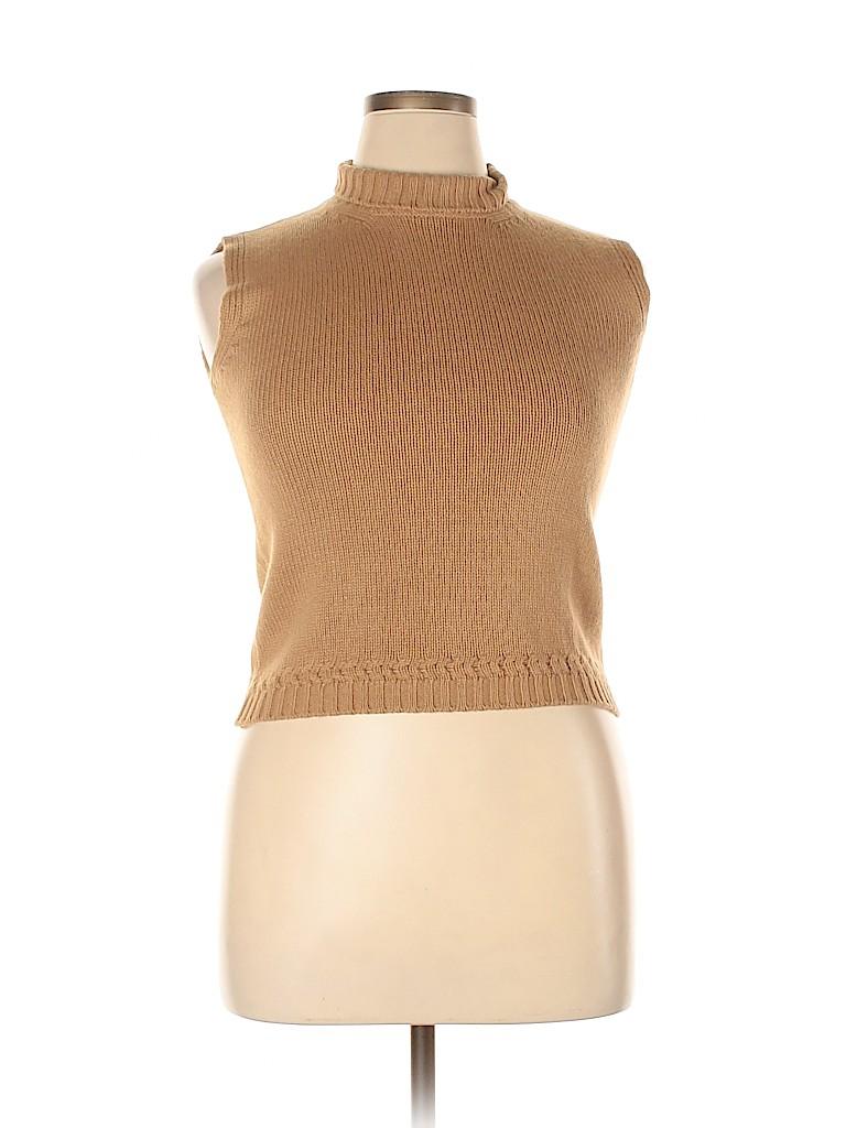 Lamberto Losani Women Wool Pullover Sweater Size 14