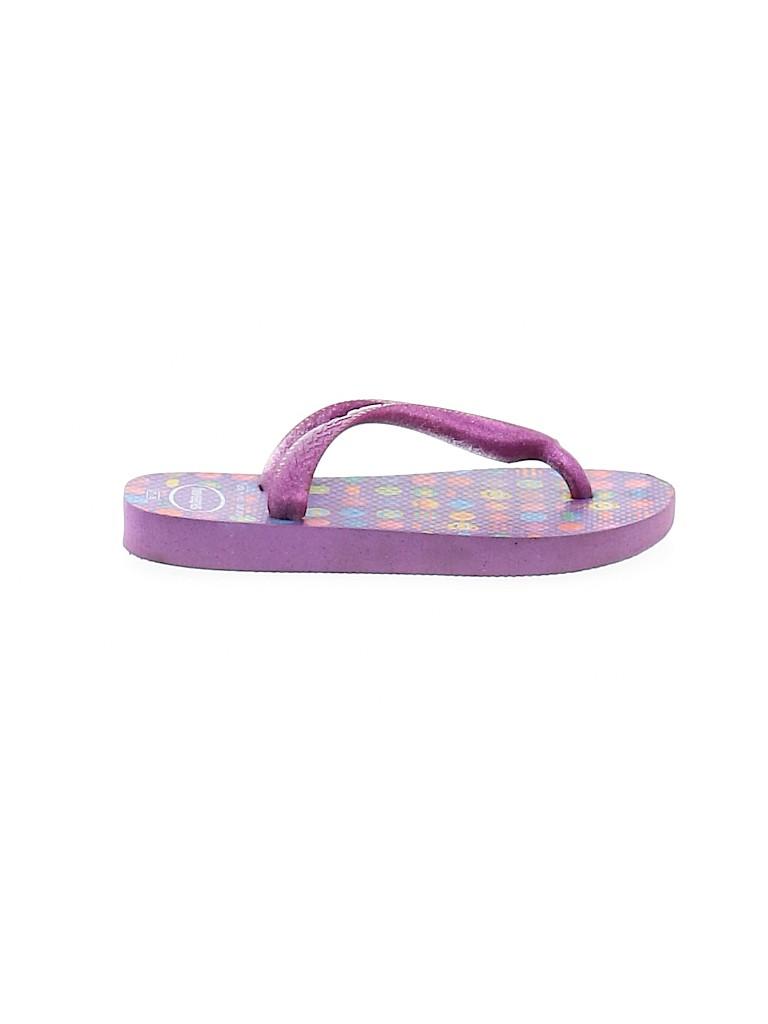 Havaianas Girls Flip Flops Size 11