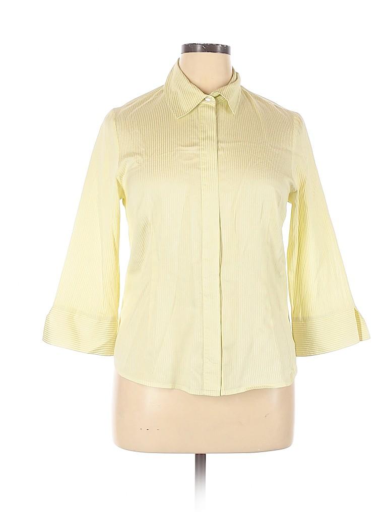 Doncaster Women 3/4 Sleeve Silk Top Size 14