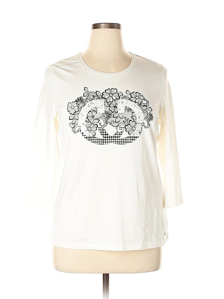 Gerry Weber Women 3/4 Sleeve T-Shirt Size 14