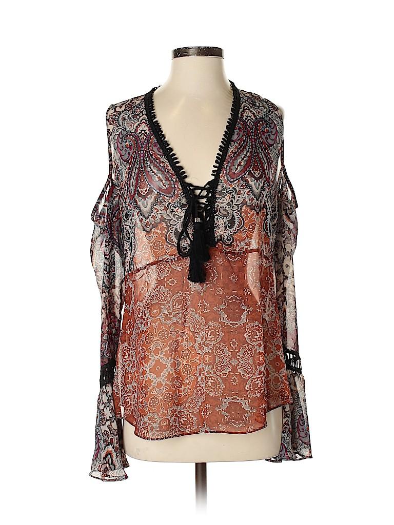 Atina Cristina Women Sleeveless Blouse Size S