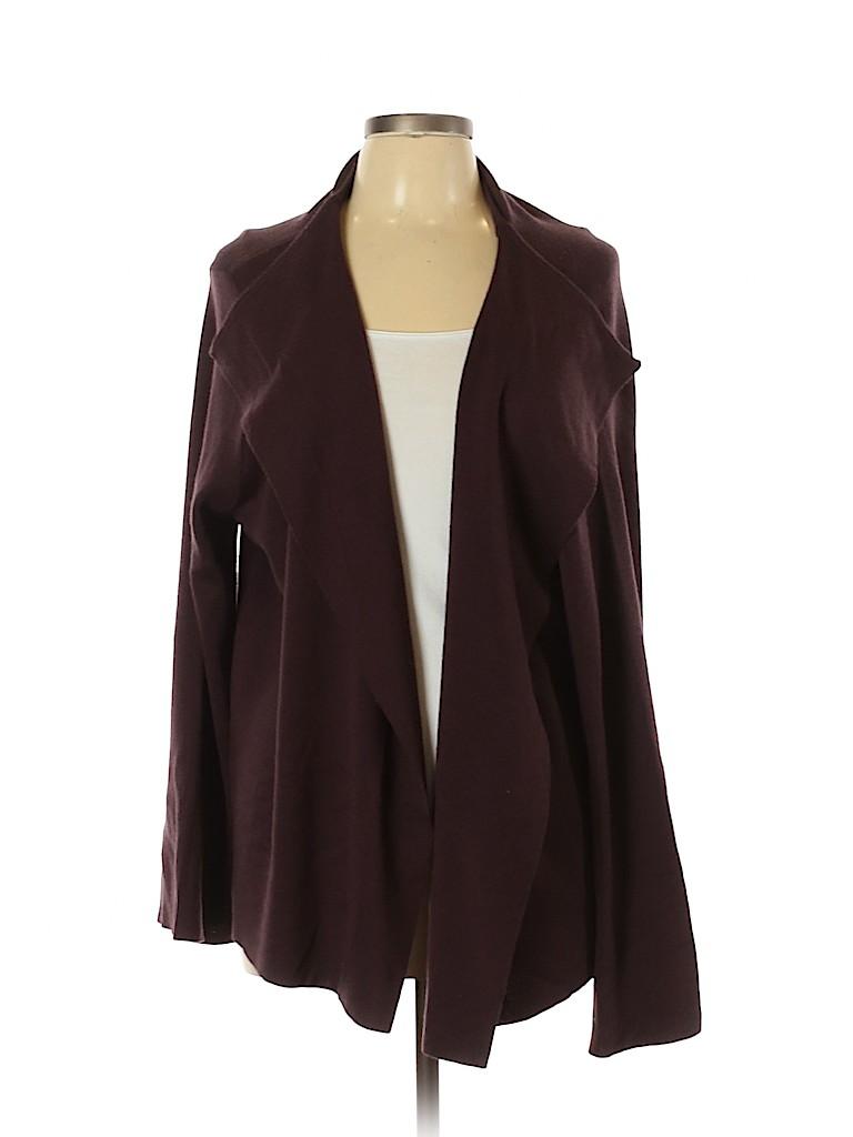 Marina Sport Women Wool Cardigan Size 16 (L)