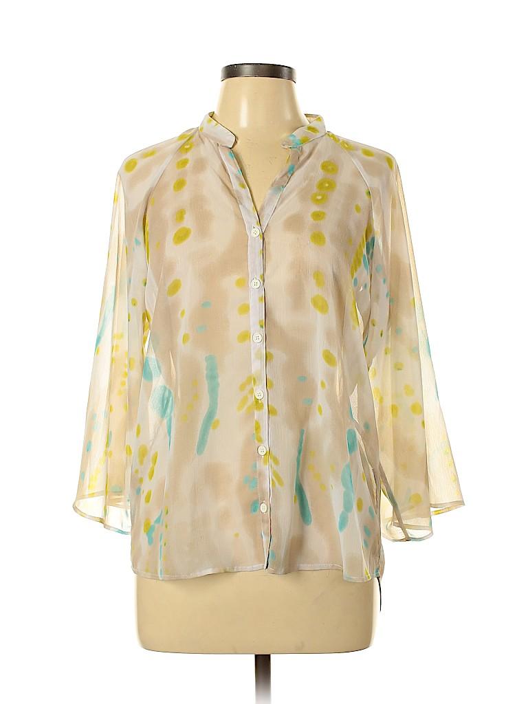 W118 by Walter Baker Women 3/4 Sleeve Blouse Size M
