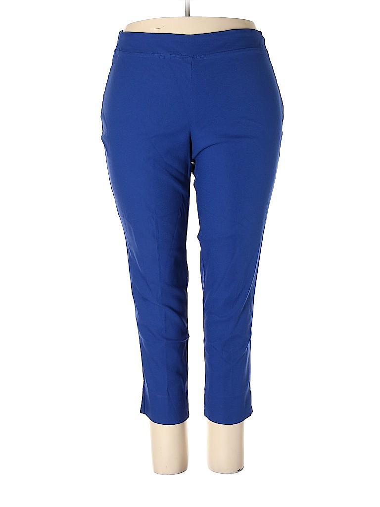 Lila Rose Women Casual Pants Size 20W (Plus)