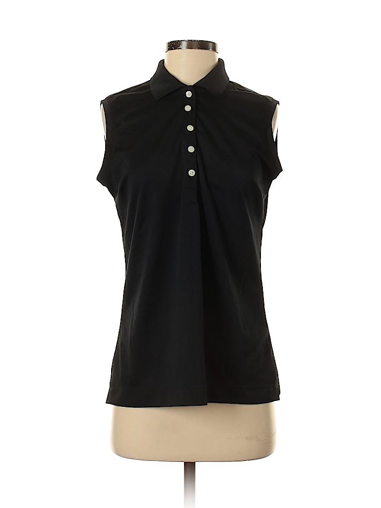 Nike Golf Women Sleeveless Polo Size M