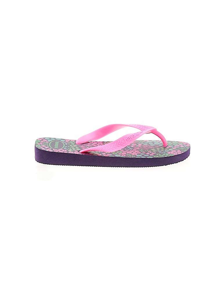Havaianas Girls Flip Flops Size 2
