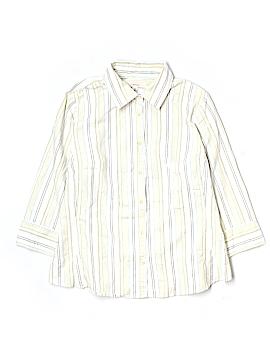 Merona 3/4 Sleeve Button-Down Shirt Size 18 (Plus)
