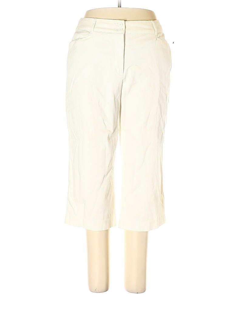 Croft & Barrow Women Khakis Size 16