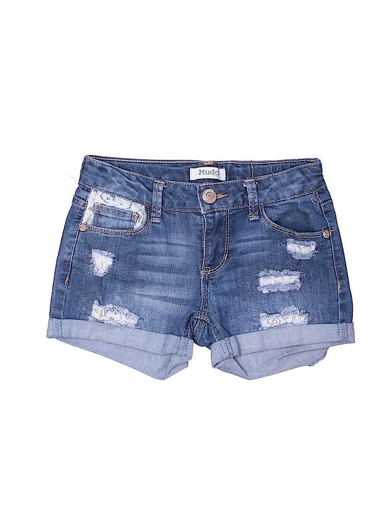 Mudd Girls Girls Denim Shorts Size 8