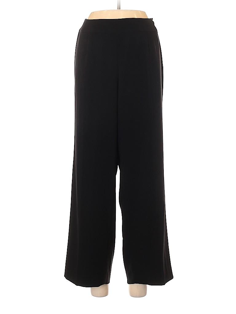 Talbots Women Wool Pants Size 12 (Plus)