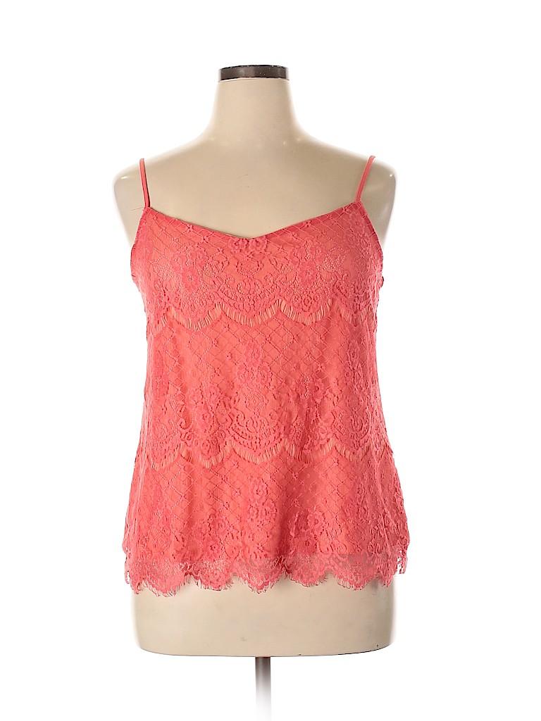 Maurices Women Sleeveless Blouse Size 14 (0)