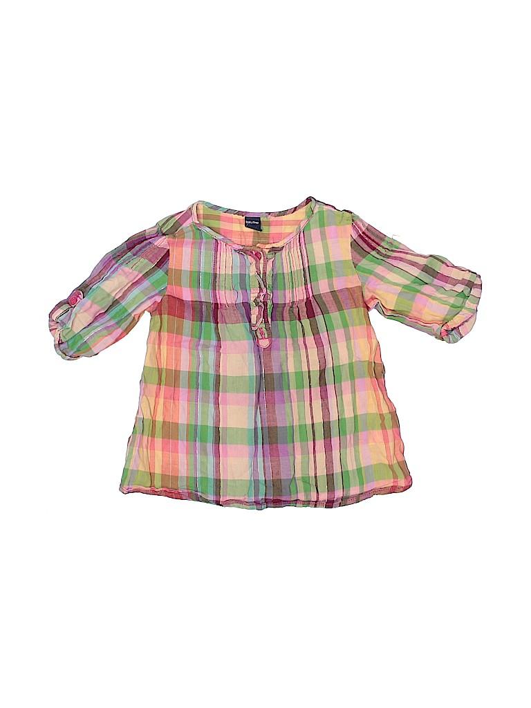 Baby Gap Girls 3/4 Sleeve Top Size 2