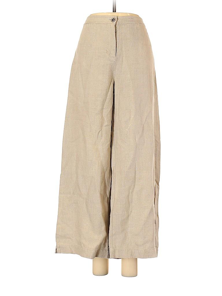 Eileen Fisher Women Linen Pants Size 6
