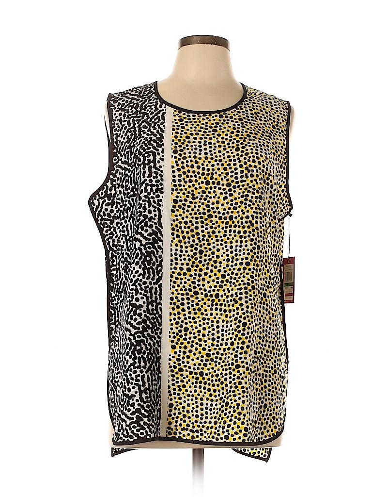 Vince Camuto Women Sleeveless Blouse Size 14