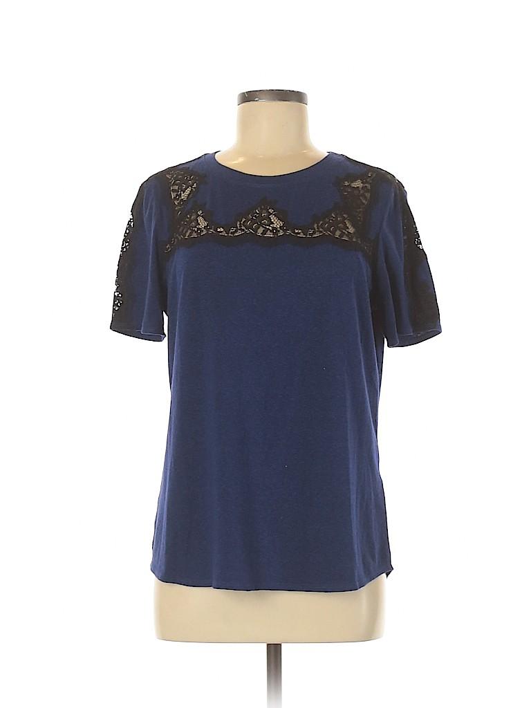 Rebecca Taylor Women Short Sleeve Top Size M