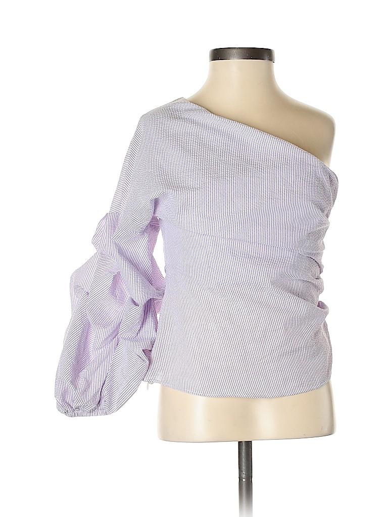 Do & Be Women Long Sleeve Blouse Size S