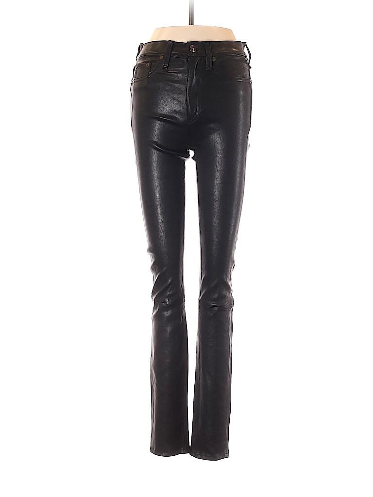 Rag & Bone/JEAN Women Leather Pants 24 Waist