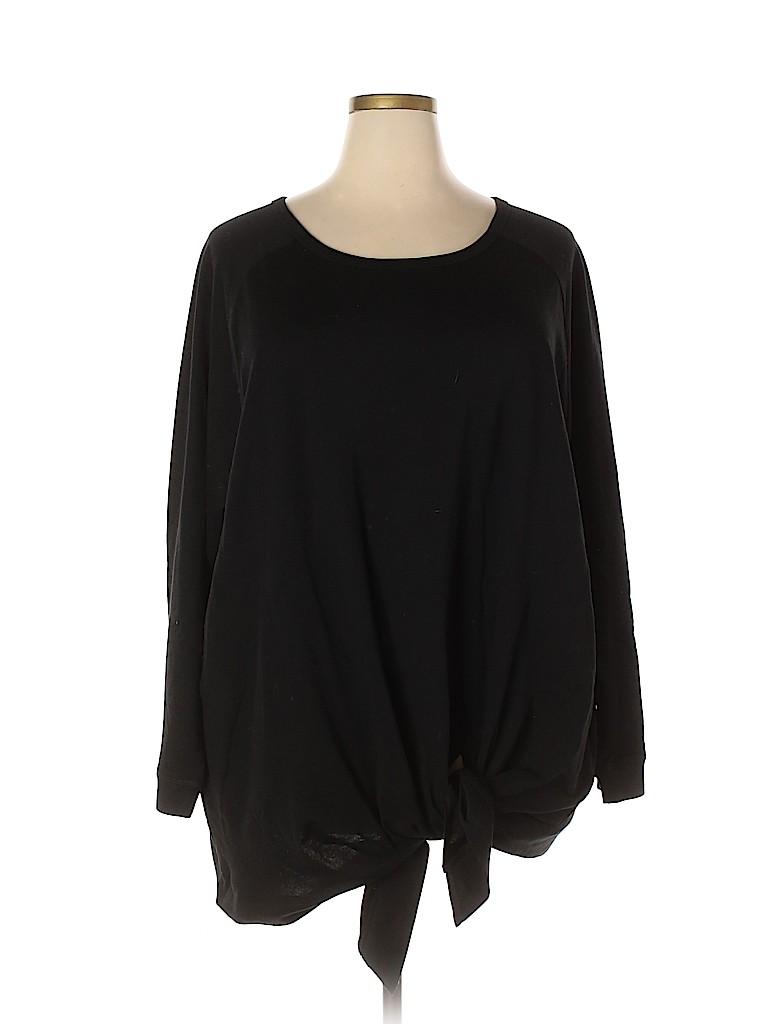 Woman Within Women Sweatshirt Size 30 (3X) (Plus)