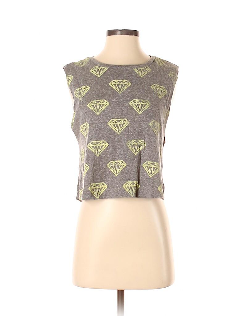 Forever 21 Women Sleeveless T-Shirt Size S