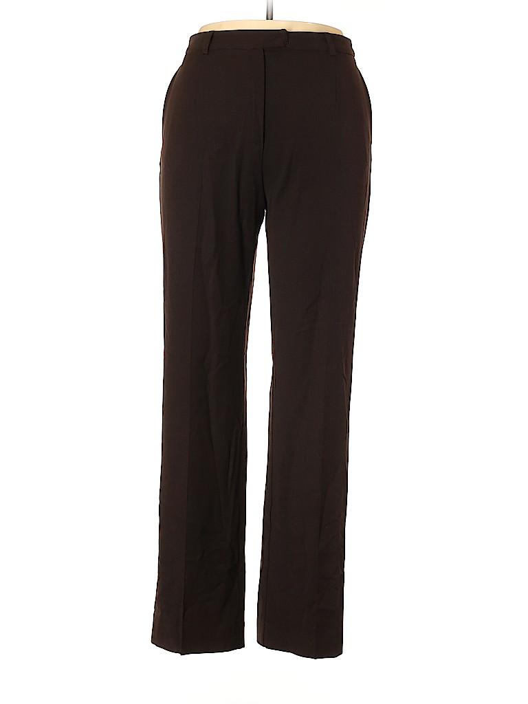 Henri Bendel Women Wool Pants Size 14
