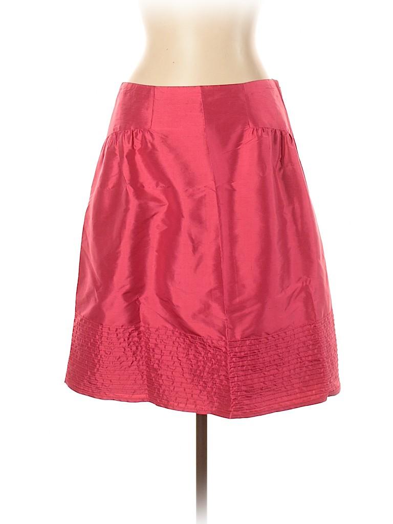 Magaschoni Women Silk Skirt Size 10