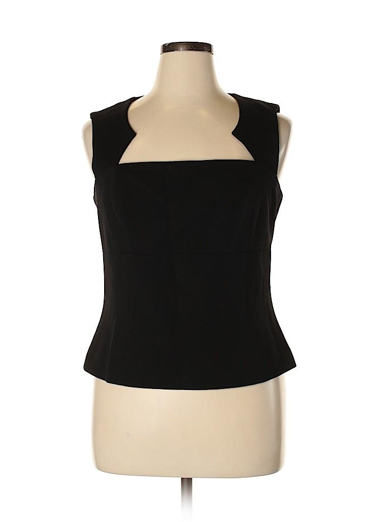 Worth New York Women Sleeveless Blouse Size 16