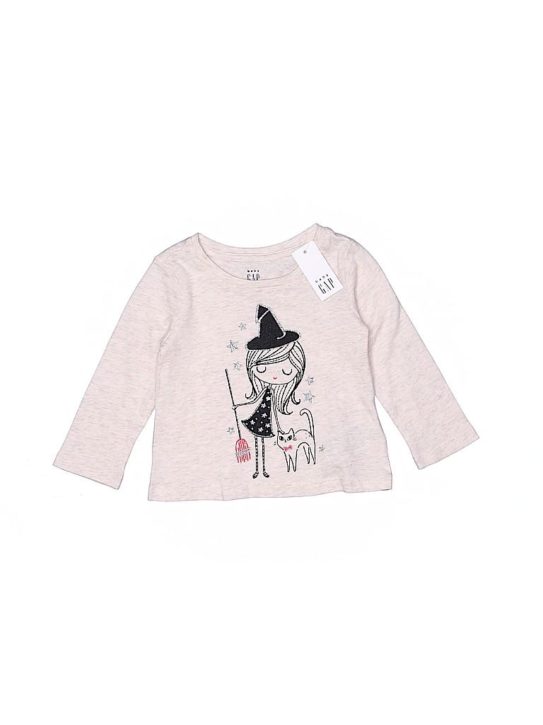 Baby Gap Girls Long Sleeve T-Shirt Size 6-12 mo