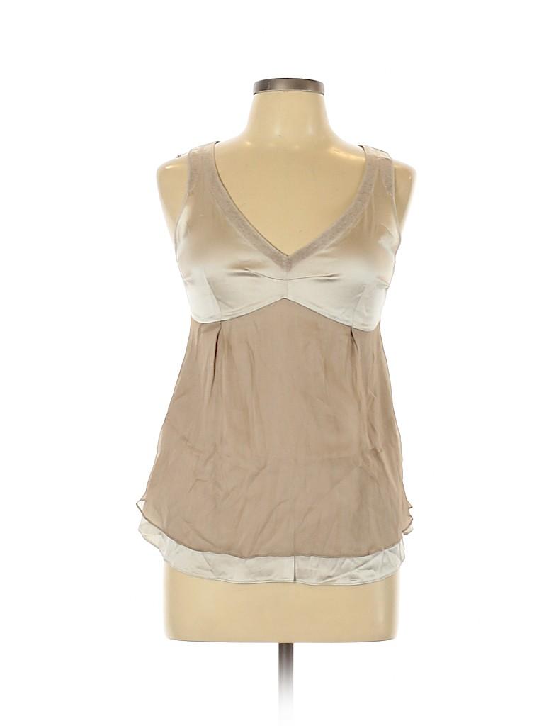 Brunello Cucinelli Women Sleeveless Blouse Size L