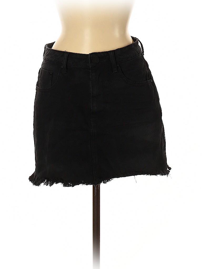 ONE X ONETEASPOON Women Denim Skirt 28 Waist
