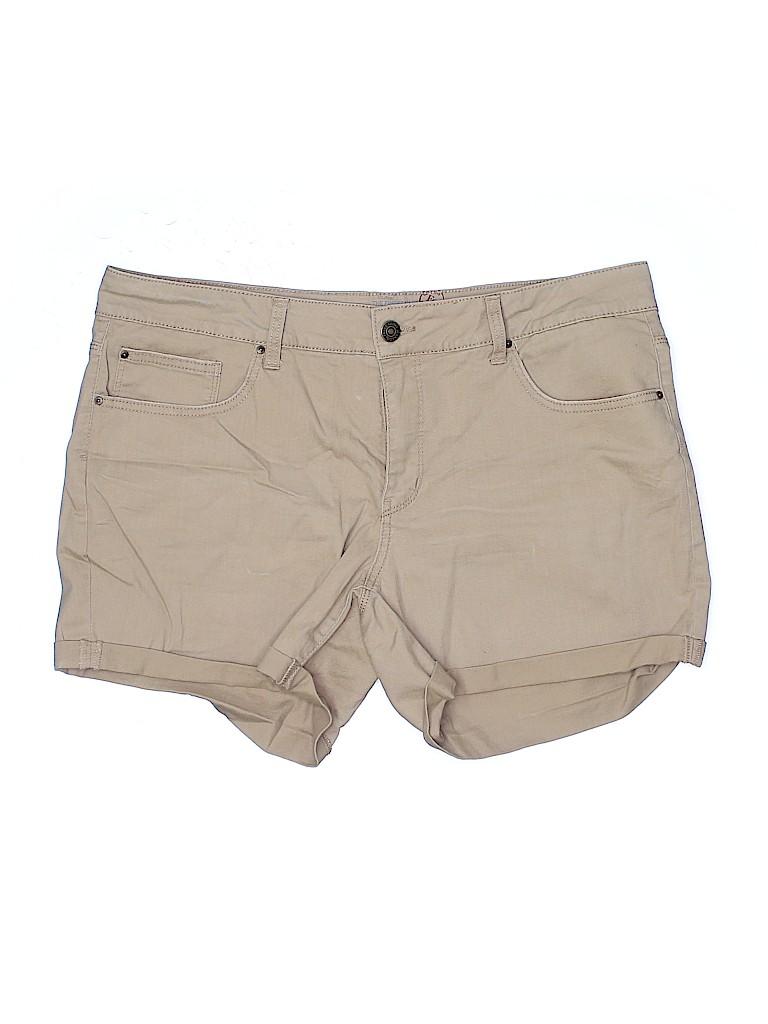 Faded Glory Women Denim Shorts Size 16