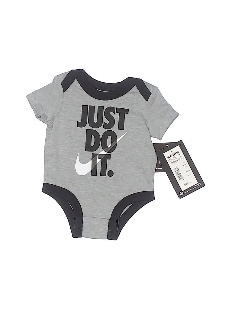 Nike Boys Short Sleeve Onesie Newborn