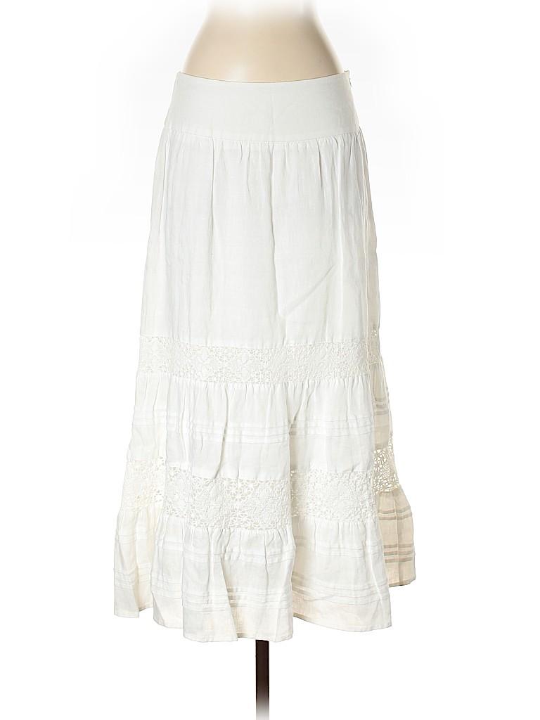 J.jill Women Casual Skirt Size 4 (Petite)