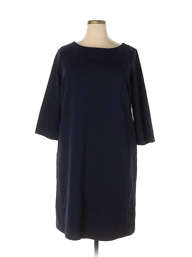 Talbots Women Casual Dress Size 18w (Plus)