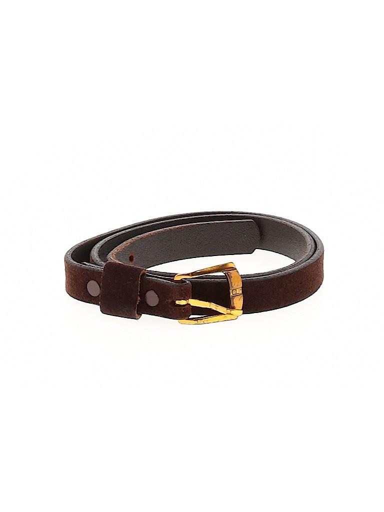 Unbranded Women Leather Belt Size XS