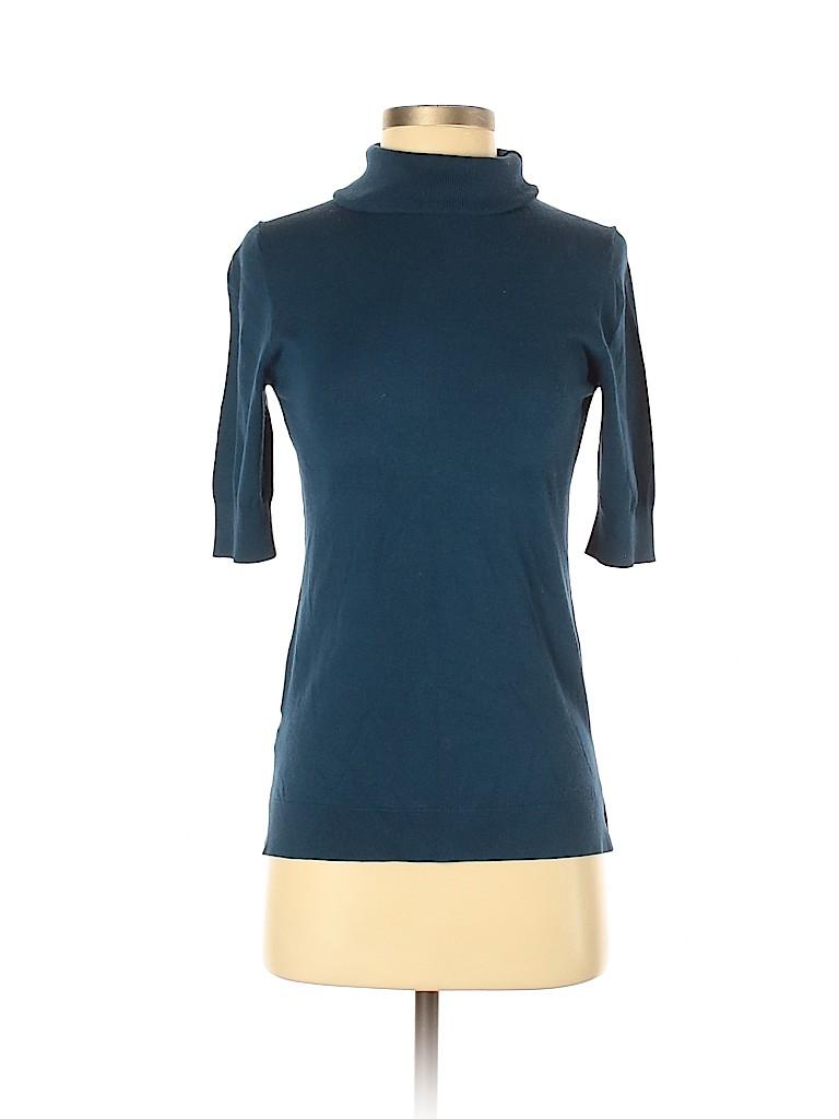 Ann Taylor Women Turtleneck Sweater Size S