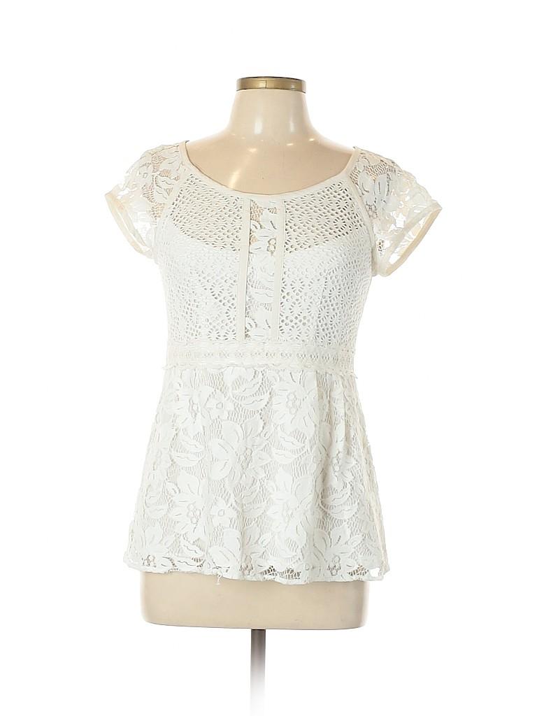 Nanette Lepore Women Short Sleeve Blouse Size 10