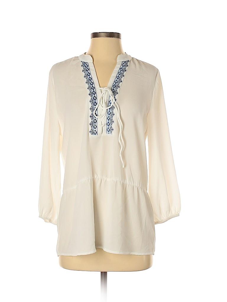 Octavia Women 3/4 Sleeve Blouse Size XS