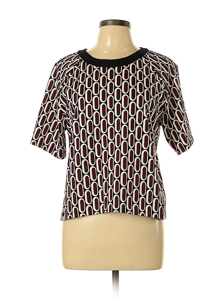 MICHAEL Michael Kors Women Short Sleeve Top Size L