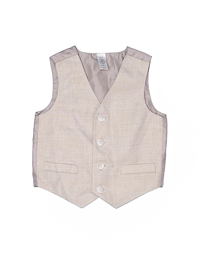 George Boys Tuxedo Vest Size 2T