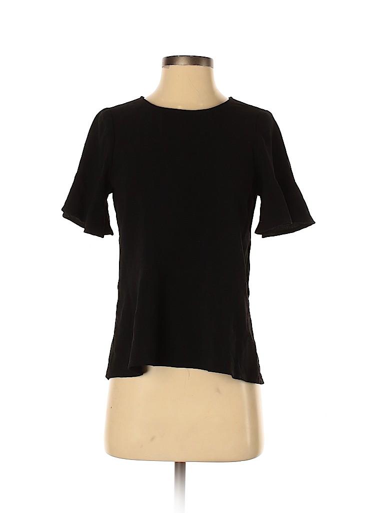 Madewell Women Short Sleeve Blouse Size XXS