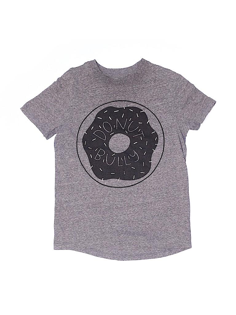 Cat & Jack Girls Short Sleeve T-Shirt Size L (Kids)