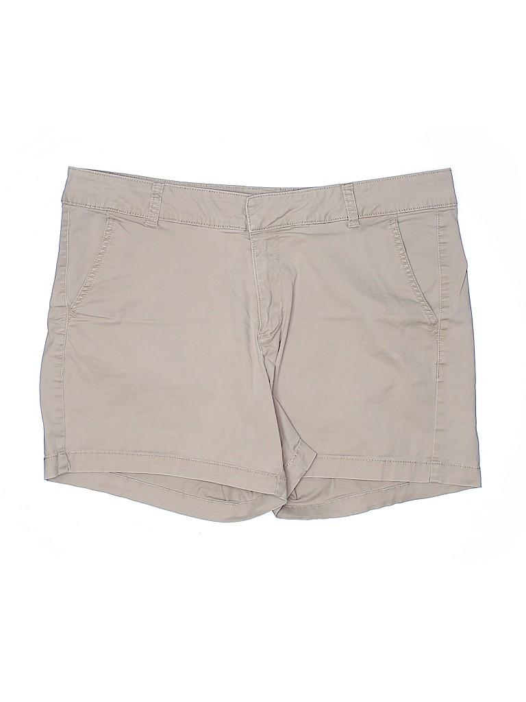 Sonoma Goods for Life Women Khaki Shorts Size 14