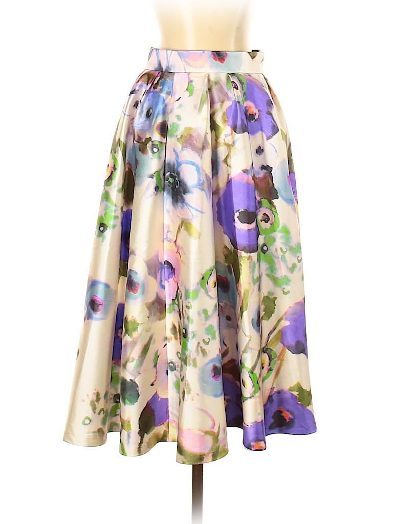 Lela Rose Women Casual Skirt Size 4