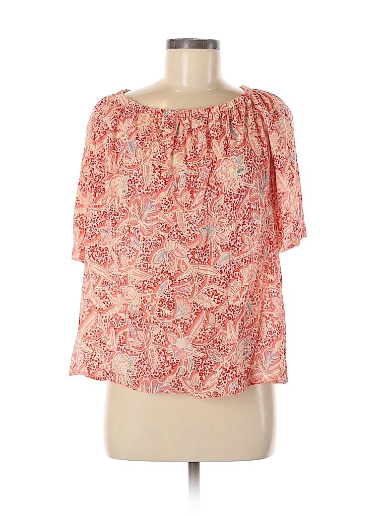 Tory Burch Women Short Sleeve Blouse Size 6