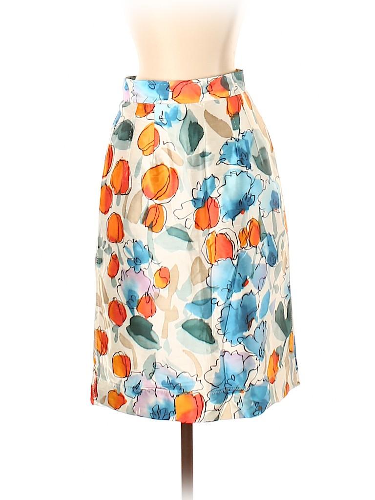 Dolce & Gabbana Women Silk Skirt Size 38 (IT)