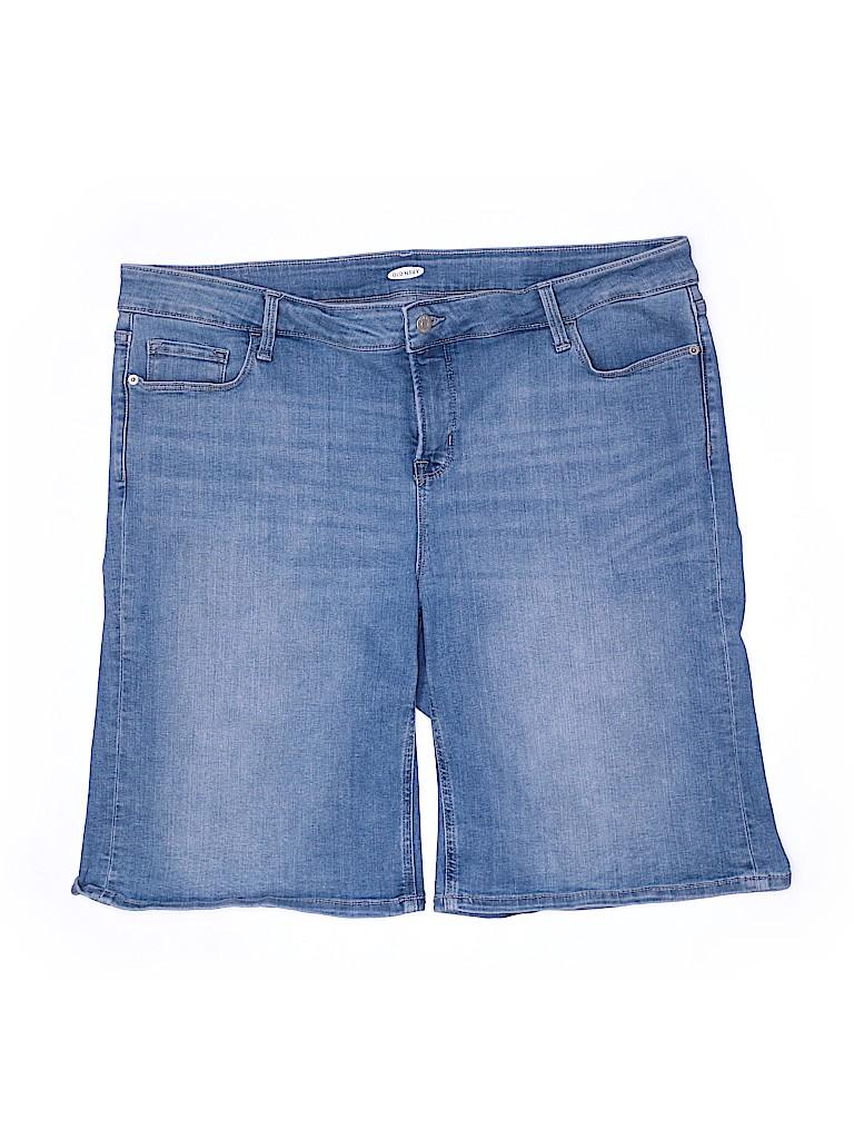 Old Navy Women Denim Shorts Size 22 (Plus)