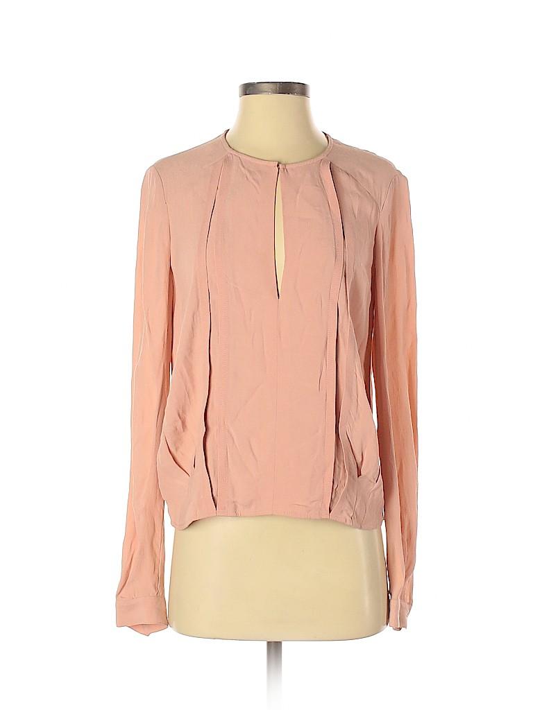 Diane von Furstenberg Women Long Sleeve Blouse Size 0