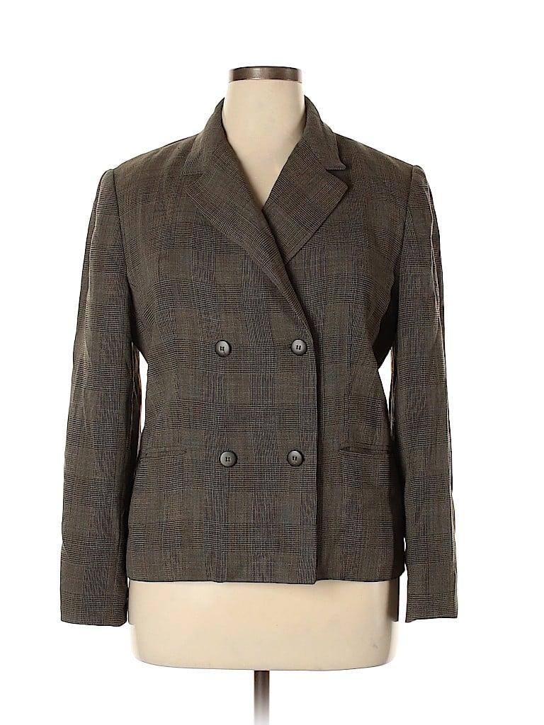 Talbots Women Wool Blazer Size 14