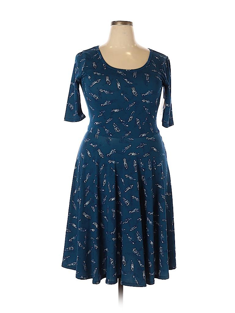 Lularoe Women Casual Dress Size XXL